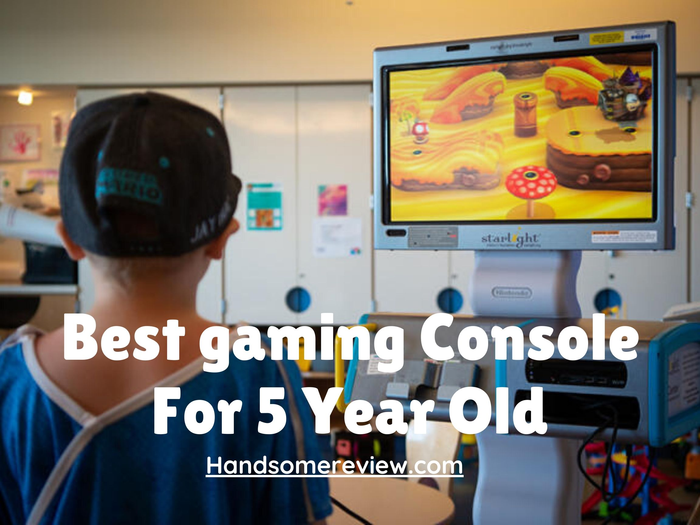 gaming console for 5 year old