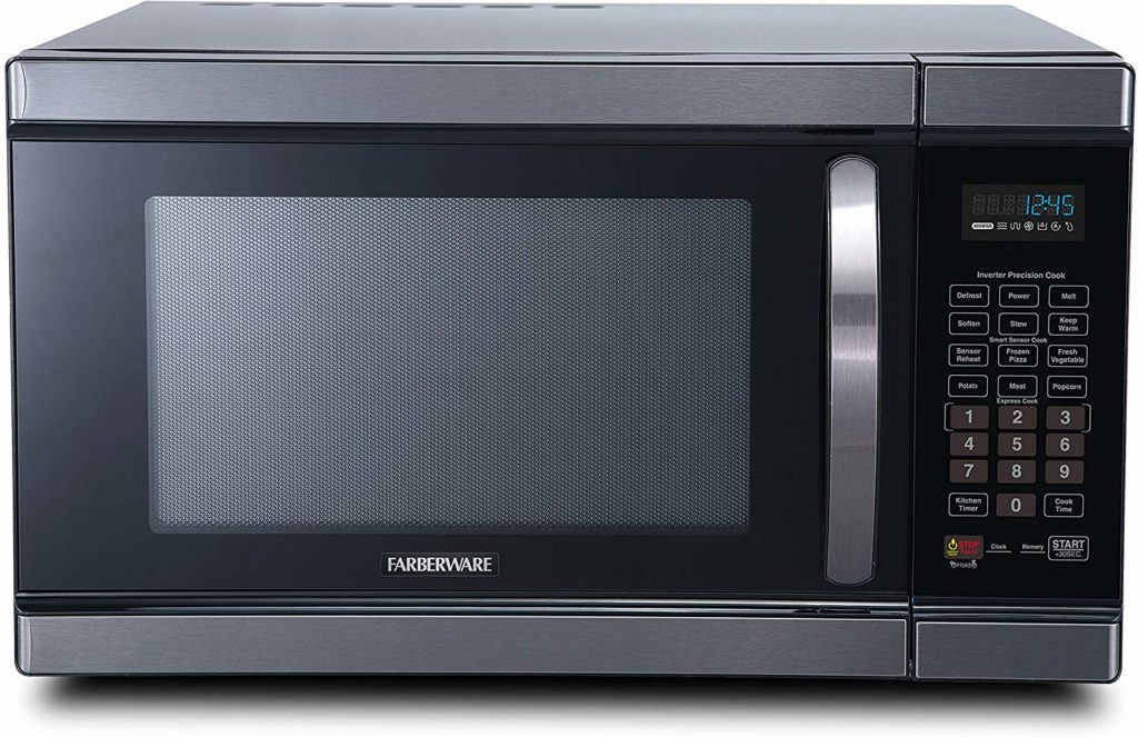 Farberware Black FMO11AHTBSJ 1.1 Cu. Microwave Ft 1100 Watt