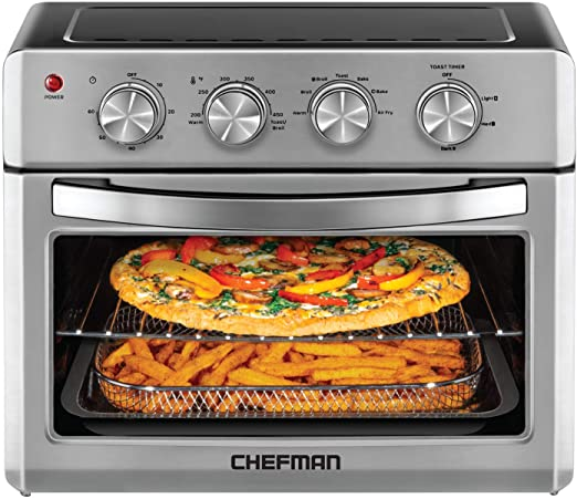 Chefman 26 QT Air Fryer Toaster Oven The Largest Air Fryer in the Marketg