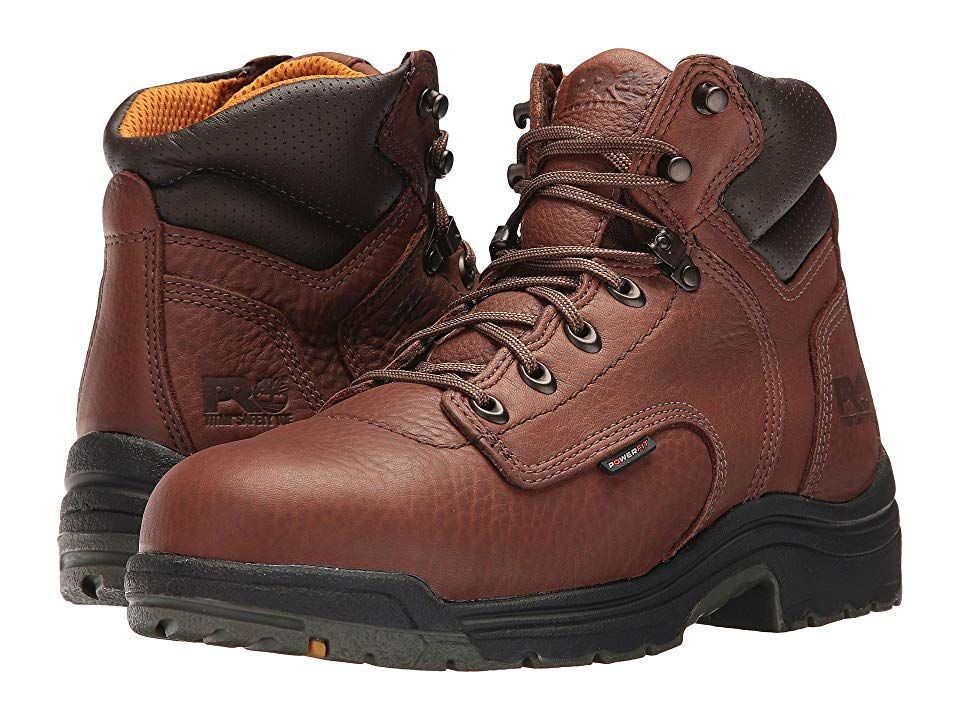 TIMBERLAND PRO MEN'S TITAN 6″ WATERPROOF ALLOY TOE BOOT
