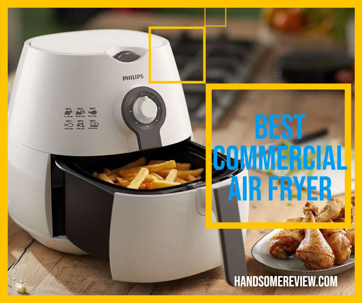 best commercial air fryer