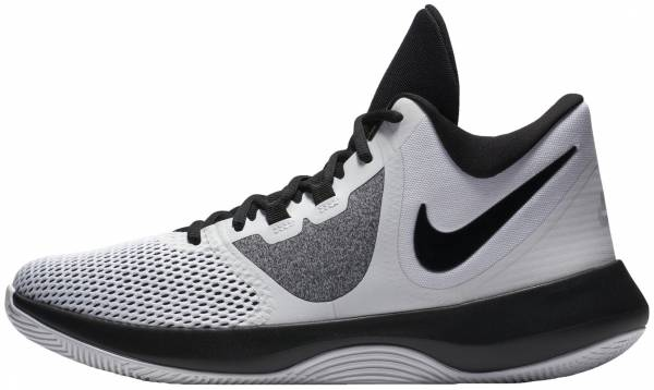 Nike Men Air Precision High Top Basketball Shoe